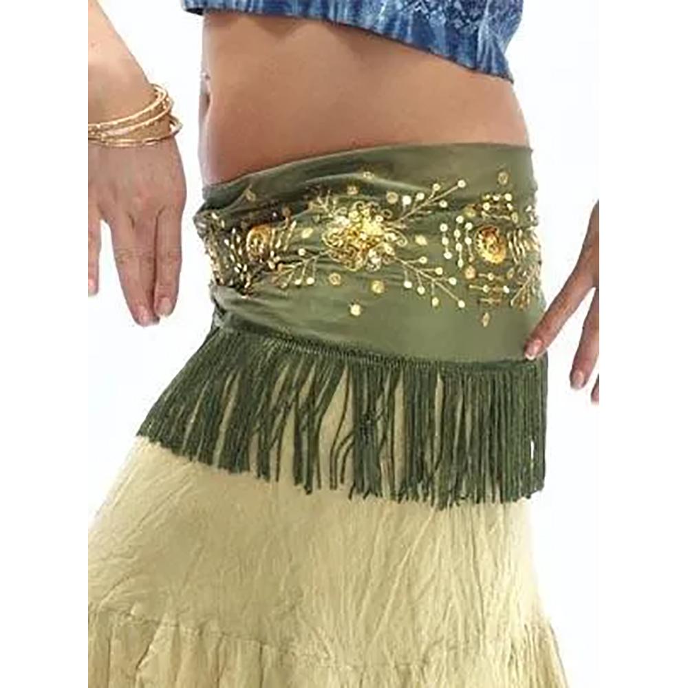 Belly Dance Hip Scarves