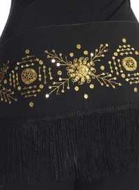 Belly Dance Hip Scarf Green Colour