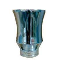 Geyser jet Nozzle Body Brass with Chrome plated