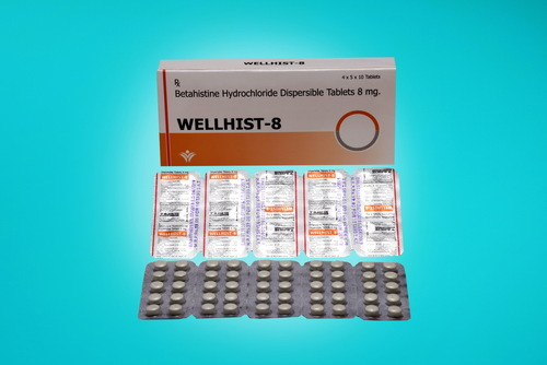Betahistine Hydrochloride Dispersible Tablets