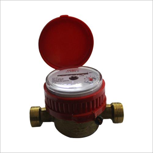 Single Jet Water Meter Class B Magnetic Drive DN15