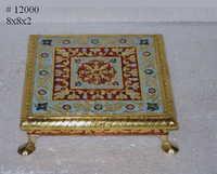 Antique Brass Chowki
