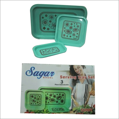SAGAR TRAY SET (GREEN)