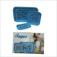 Sagar Serving Tray Set (Sunny Tray)