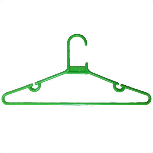 Green Plastic Hanger