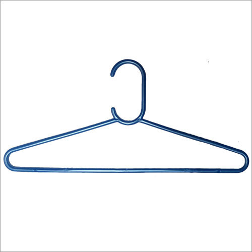 Blue Plastic Hanger