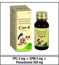 Phenylephrine HCI 5 mg.+Paracetamol 250 mg.+Chlorpheniramine maleate 2 mg.