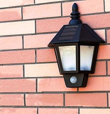 Solar Motion Sensor Gate Light