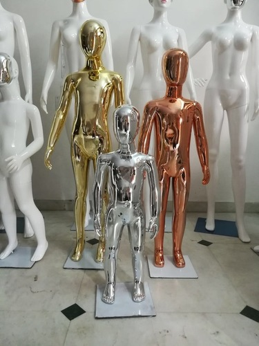 Kids Chrome Mannequins