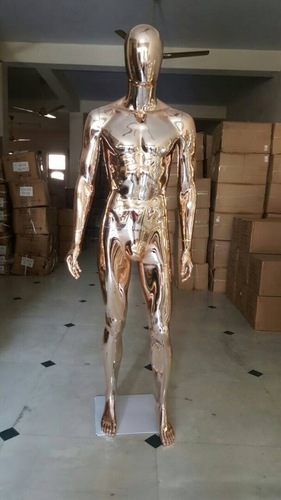 Rose Gold Chrome male Mannequins