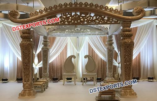 Unique Indian Wedding Mandap