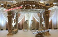 Unique Indian Wedding Mandap