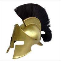 Black Plume Corinthian Helmet