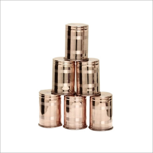 Copper Glass Set
