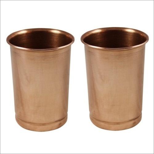 Pure Copper Glass Set