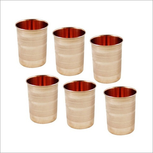 Copper Tumbler Glass Set