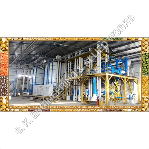 Pulse Processing Plant for Red Lentil (Masoor Dal )