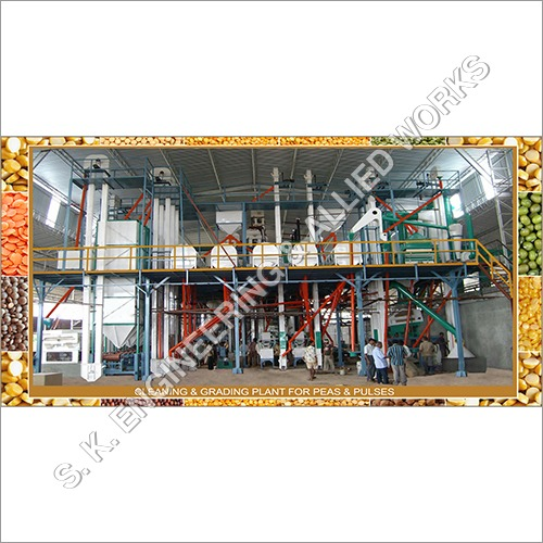 Pulse Processing Plant for Yellow Peas (Moong Dal )