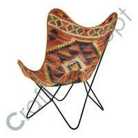 MULTICOLOR KILIM ARM CHAIR