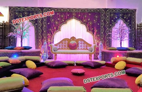 Gorgeous Wedding Embrodried Stage Backdrop