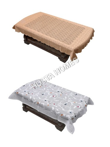 Multi Color Table Cover Poly Cotton 40X60