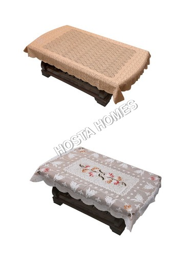 Poly Cotton Latest Design Table Cover Combo