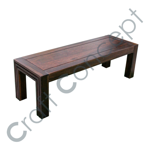 RECTANGLE WOODEN COFFEE TABLE