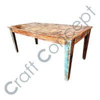 RECLAIM WOOD DINING TABLE