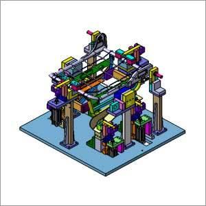 Pneumatic Assembly Welding Fixture