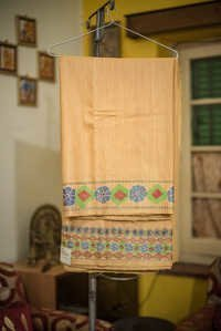 Designer Cotton Ghicha Sarees