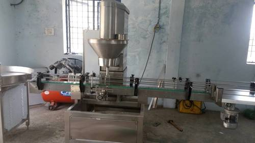 chemical powder filling machine