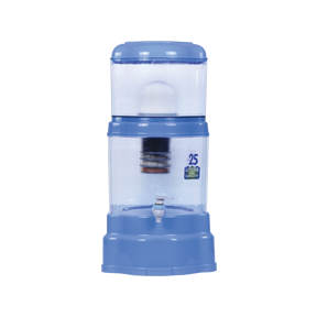 Minpot Square (Transparent 20 Ltr)