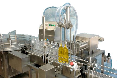 Oil Bottle Filling Machine