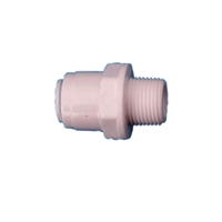 Straight Connector  1/4 Thread To 1/4