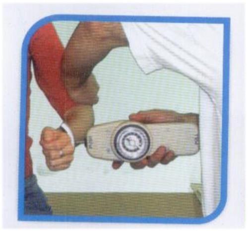 Push-Pull Dynamometer Analog (dial) readout - 50 Lb. / 22.5kg
