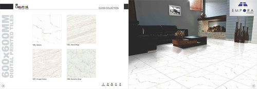 Super white Digital Porcelain Tiles 60x60
