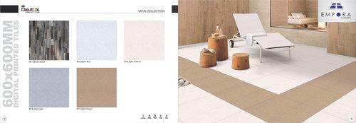 Satin Collection Porcelain Bedroom Tiles