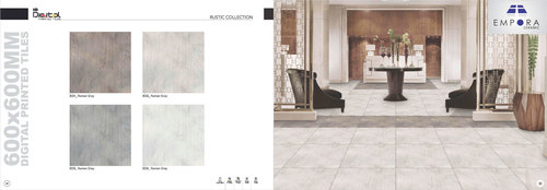 Rustic Gray Collection Porcelain Tiles