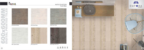Rustic Collection Punch Effect Floor tiles