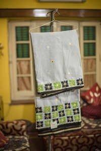 Embroidery Bangladeshi Cotton Saree