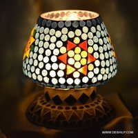 MOSAIC DECORATIVE TABLE LAMP, ANTIQUE MOSAIC LAMP