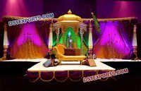 Arabian Theme Wedding Stage