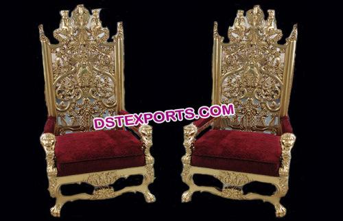 Royal Wedding Chairs for Wedding Couple