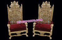 Royal Wedding Chairs for Wedding Couple