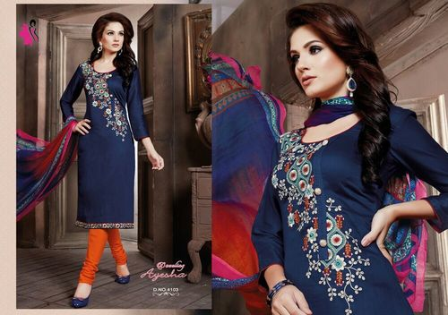 Embroidery Work Salwar Suits Wholesale Rate