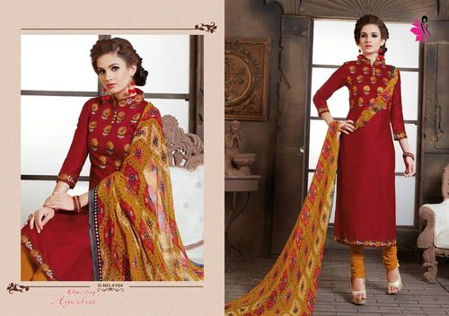 Wholesale Embroidery Work Salwar Suits Online