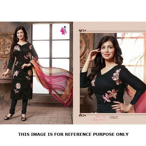 Cotton Embroidery Work Salwar Kameez Online