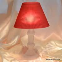 TABLE LAMPS , GLASS TABLE LAMP BASE,MODERN LAMP,CLEAR TABLE LAMP
