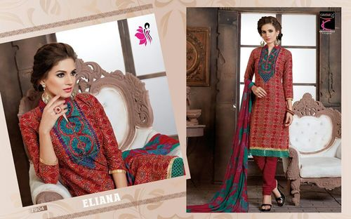 Online Wholesaling Of Embroidery Work Salwar Suits