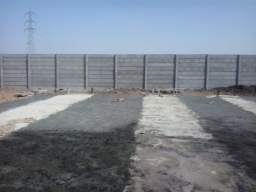 Precast Compound Wall Plant